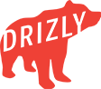 Drizly red bear logo